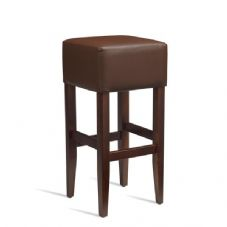 Vanna Heat Bar Stool Dark Walnut Brown